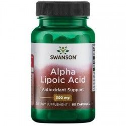 Alpha-lipoic Acid 300 mg, 60 capsules