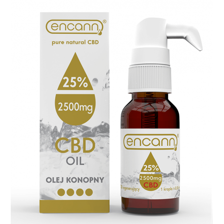 CBD Oil Encann Gold 25% (10 ml)