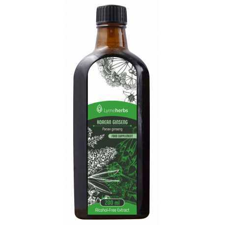 Korean Ginseng Alcohol-Free Extract (200ml)