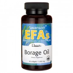 Borage Oil 1000mg , 60 capsules