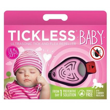 TICKLESS BABY, a tick repeller for children under 2 years of age