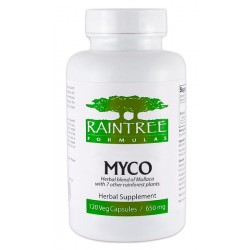 Myco (Raintree Formulas) 650 mg, 120 capsules