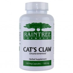 Cat's Claw (Raintree) 500 mg, 100 capsules