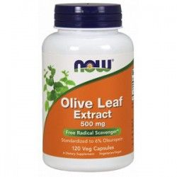 Olive Leaf Extract 500mg, 120 caps.