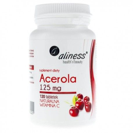 Acerola Natural Vitamin C, 125mg, 120 tablets