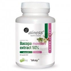 Bacopa monnieri extract 50%, 500 mg, 100 Vege Caps